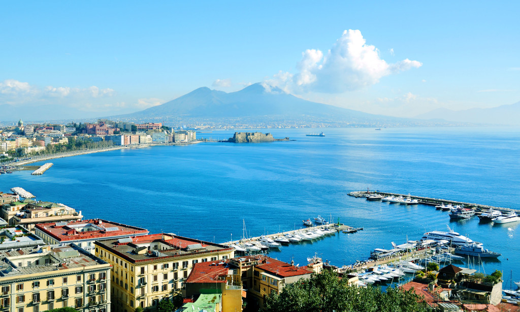 beautiful naples panoramic view