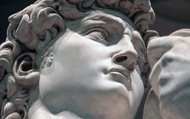 A história do nariz de David (Michelangelo)